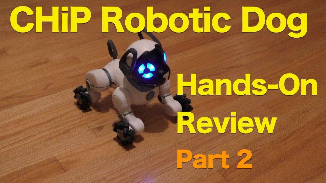 Chip Robotic Pet Dog From Wowwee Review