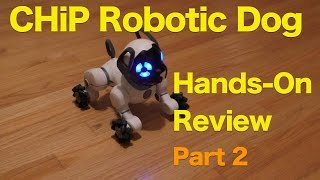 CHiP Robotic Pet Dog From WowWee Review, Part 2