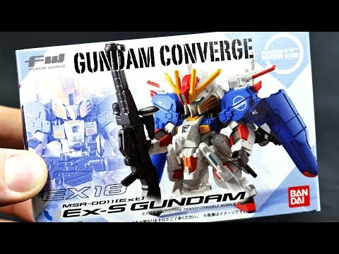 1392 - Converge EX18 Ex-S Gundam UNBOXING and Review