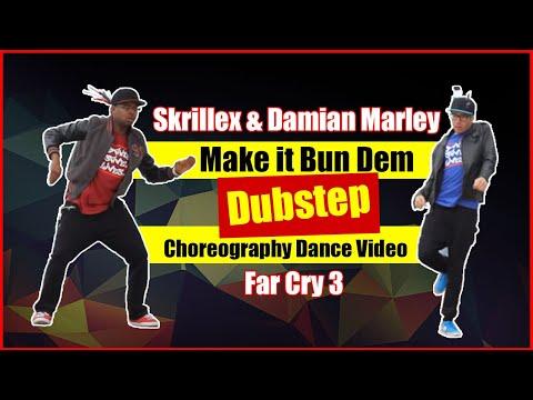 Skrillex & Damian Marley Make it Bun Dem Dubstep Choreography Dance Video Far Cry 3