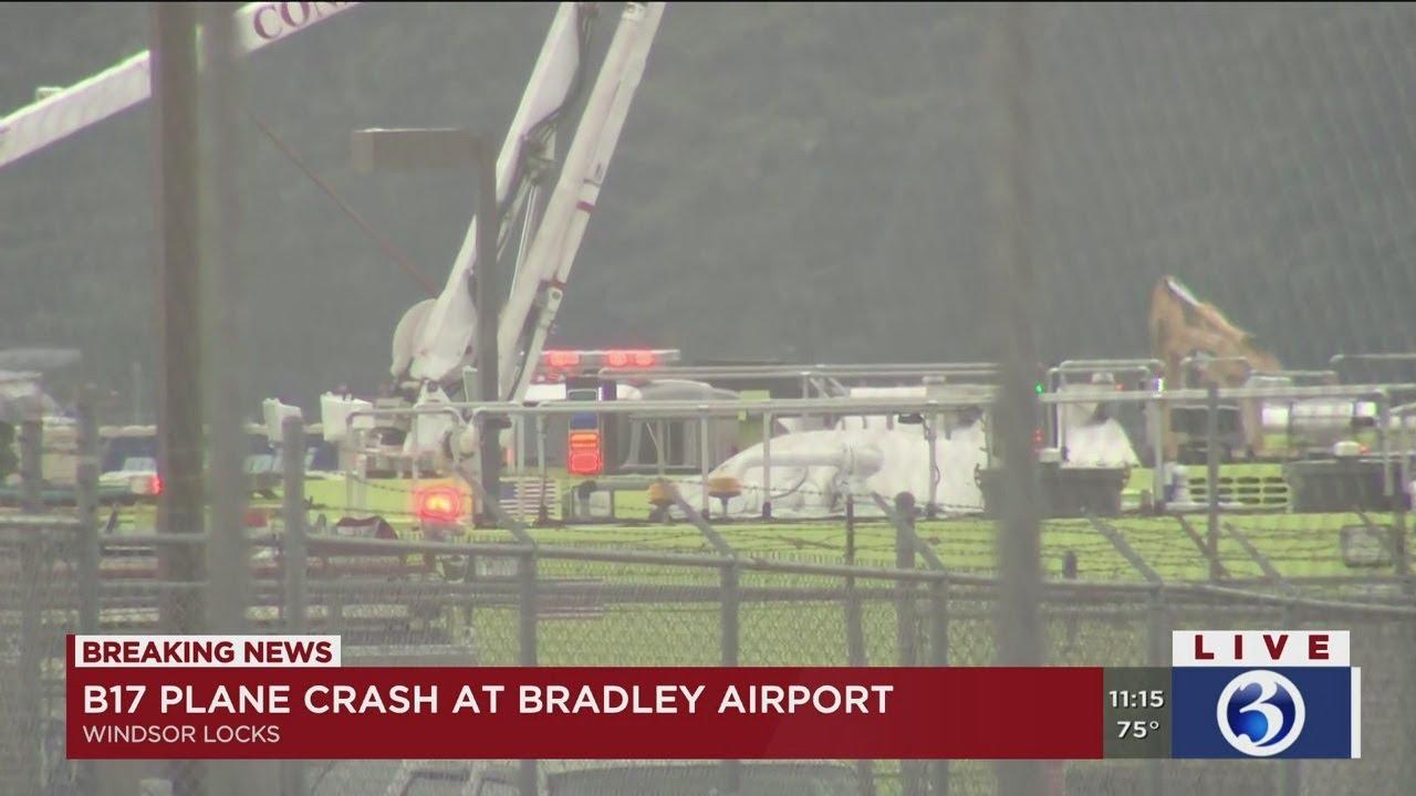 plane crash at bradley airport
