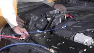 卡爾世達 TEXA 760R 冷媒回收機 全自動模式 操作示範