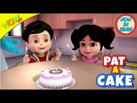 Pat A Cake | New year's special | Hindi Songs for Children | Vir | WowKidz