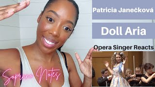 Opera Singer Reacts to Patricia Janečková Doll Aria   Performance Analysis