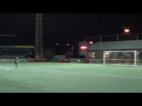 Belgian 4th division player scores from 90 yards