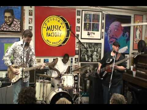 Tab Benoit @ Louisiana Music Factory  JazzFest 2011 - PT 1