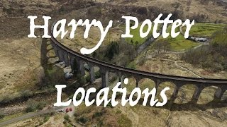 Harry Potter film locations Scotland BY DRONE