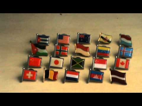 Flag Pin Collection Expanded