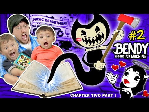 Thumbnail: DON'T SCARE MY BABY! Bendy and the Ink Machine #2 CHAPTER TWO (FGTEEV plays SCARY MICKEY MOUSE Game)