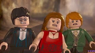 LEGO Harry Potter Years 5-7 - Year 7, Part 1 - All Cutscenes - The Deathly Hallows: Part 1 [100%]