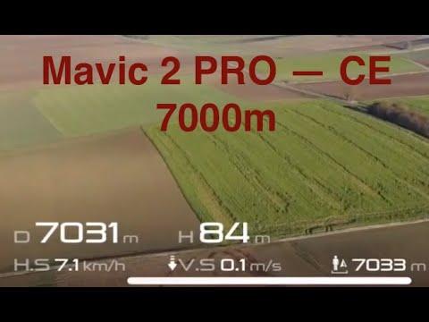 DJI Mavic 2 CE Range Test - 7000m / Reichweite Test