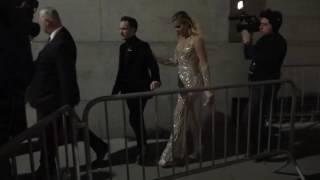 Kourtney and Khloe Kardashian leaving the Angel Ball