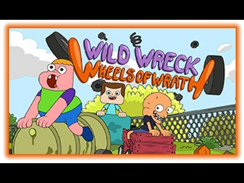 Wild Wreck Wheels Of Wrath | Clarence Games | Cartoon Network