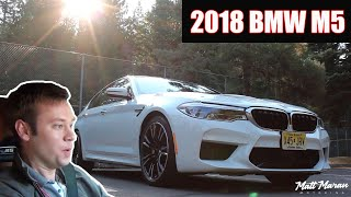 Review: 2018 BMW M5 - What Can't It Do?