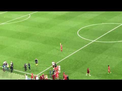 El último adiós de Xabi Alonso al Santiago Bernabéu