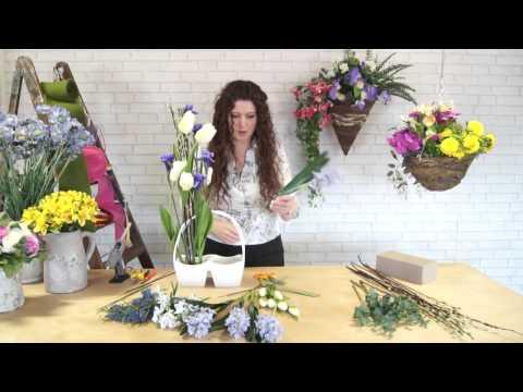 How to Make a Spring Floral Arrangement