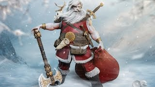 Santa is Back - Speed Art (#Zbrush, #Marvelous Designer & #Photoshop)