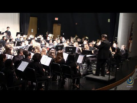 Durant Road Middle School Concert Band performs Newcastle March on 3/18/2019