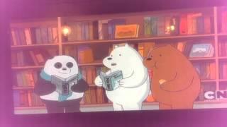 We bare bears sings.  Whip whip nae nae