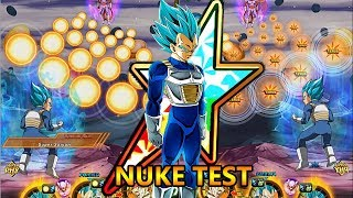 ANOTHER MAX DAMAGE!? Transforming Vegeta Damage Test! Dbz Dokkan Battle thumbnail