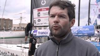 Nicolas Troussel à l'issue du grand prix de Dunkerque sur le Tour de France à la Voile !