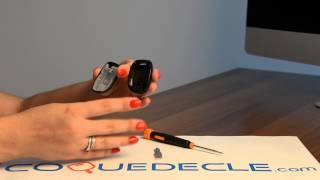 Télécommande coque de clé 1 bouton Renault Clio, Laguna, Megane, Twingo, Espace, Safrane