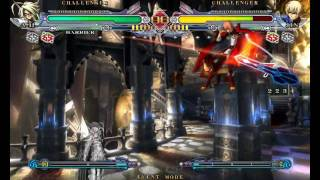 BlazBlue: Continuum Shift - 2 basic Lambda-11 combos