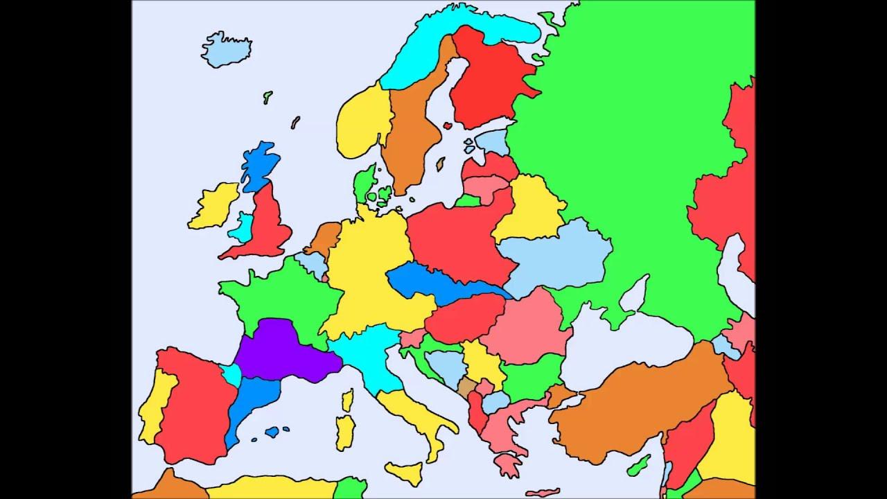 Realistic Future Map of Europe YouTube