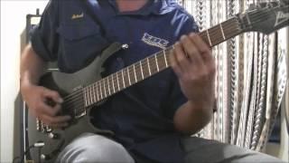 Soilwork the chainheart machine rythem guitar cover