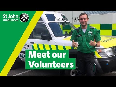National Volunteers' Week - Volunteer with St John Ambulance