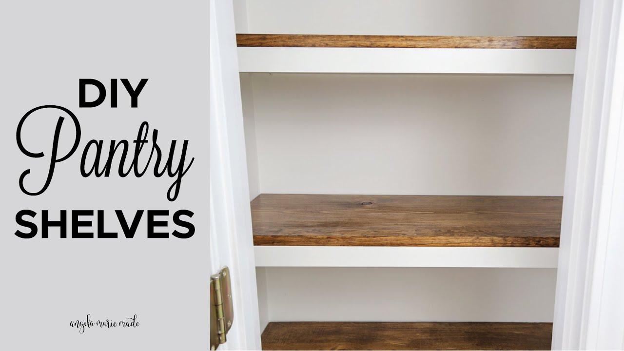 Download DIY Pantry Shelves