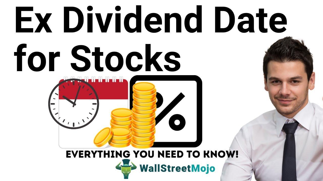 ex dividend date definition