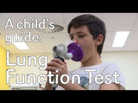 A Child's Guide To Hospital: Spirometry - Lung Function