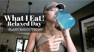 WHAT I EAT IN A DAY VEGAN (recipes included) + my BF gave me warts!