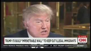 "Donald Trump Interview with Anderson Cooper on ""AC360"" (July 9, 2015) [Part 2]"