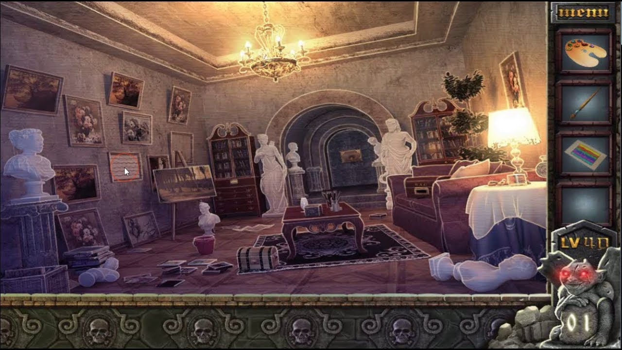 Can You Escape The 100 Room VII walkthrough level 40