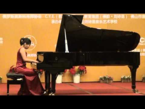 Annie Plays Chopin Waltz Op 34, No 1 in A flat Major