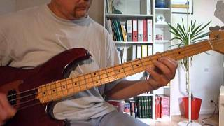 Bass Cover - Hawkwind Orgone Accumulator (Lemmy