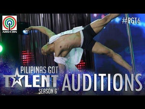 Pilipinas Got Talent 2018 Auditions: Johnny Villanueva - Pole Dancing