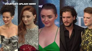 Game of Thrones' Season 7 Premiere Best Moments | Kit Harington, Sophie Turner, Maisie Williams