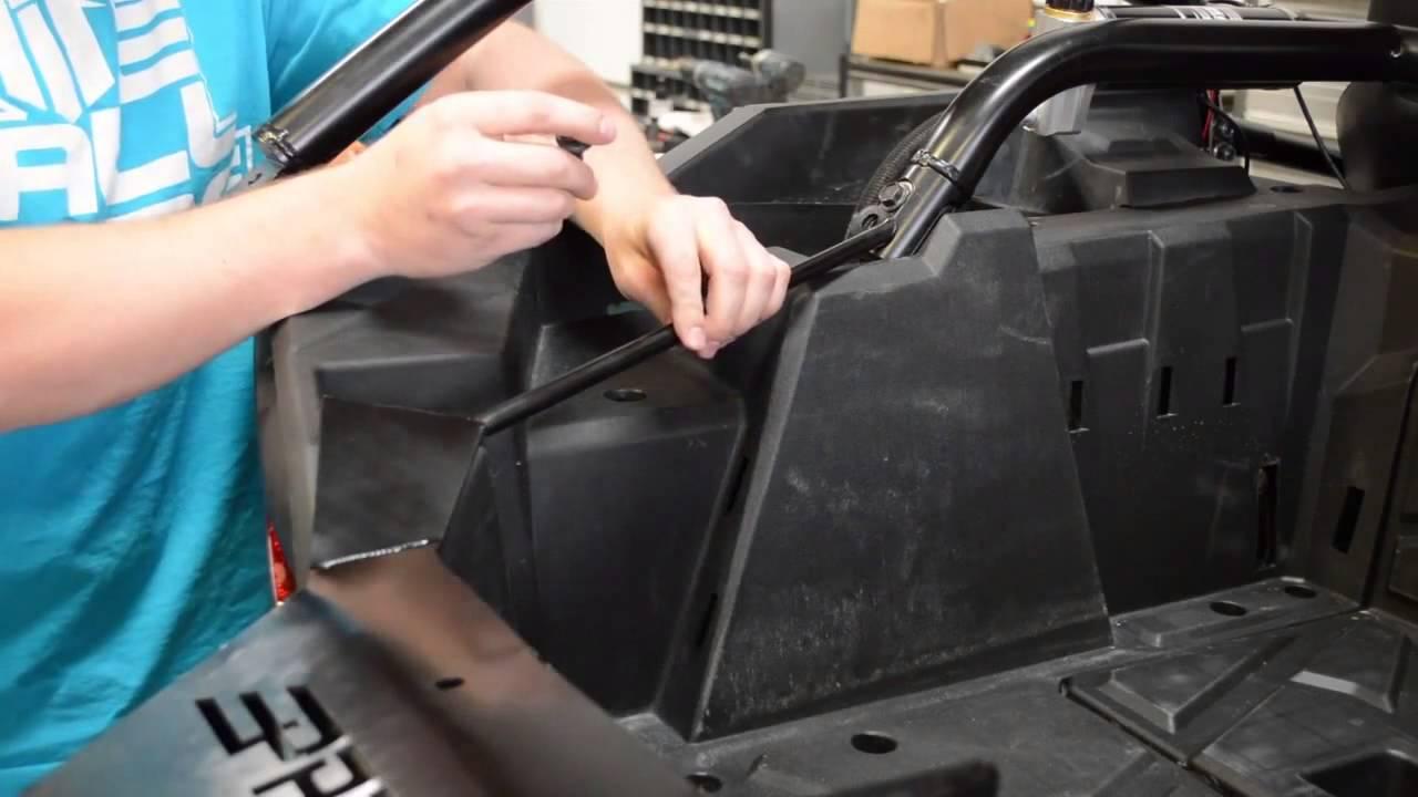 Polaris Rzr 1000 >> Polaris RZR XP 1000 Spare Tire Carrier Installation by PRP Seats - YouTube