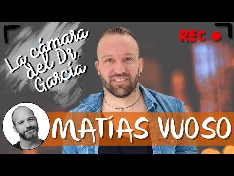 Matías Vuoso en 'La cámara del Dr. García'. 👨🏼🦲🎥💥