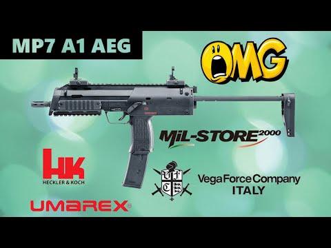 VFC-UMAREX H&K MP7 A1 AEG (Recensione + Crono + Prova di tiro)