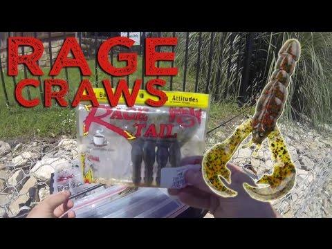 Early Summer Bass Fishing: Rage Craws- GoPro