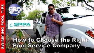 How to Choose the Right Pool Service Company