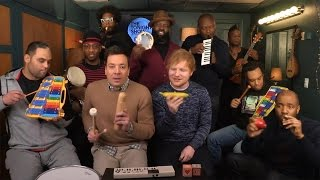 7 Times Jimmy Fallon Had Us Rocking Out to Classroom Instruments