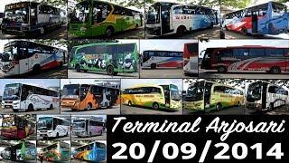 Bis-bis di Terminal Arjosari 20/09/2014