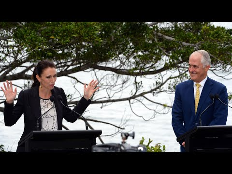 Malcolm Turnbull and Jacinda Ardern discuss deporting NZ citizens for serious crimes