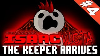 THE KEEPER - THE NEW CHARACTER & FIRST RUN EVER [The Binding Of Isaac: Afterbirth]