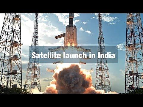 Live: Satellite launch in India印度卫星发射